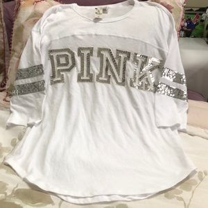 Victoria Secret pink bling top